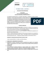 Convocatoria Seleccion Por Meritos 2019-2 TODOS LOS PROGRAMAS FEF