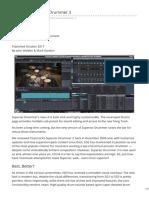Soundonsound.com-Toontrack Superior Drummer 3