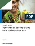 Reducción de Daños Para Los Consumidores de Drogas