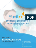 Sanitco Brochure