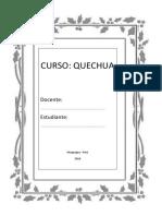 Presentación Personal en Quechua