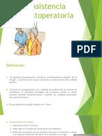 Asistencia Posoperatoria