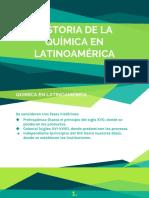 Historia de La Química en Latinoamérica