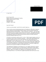 Letter to Mr Barry O'Farrell Dated 24 April 2003