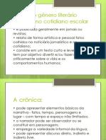 ousodogneroliterriocrnicanocotidiano-110911160834-phpapp01