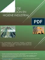 Criterios de Valoración en Higiene Industrial