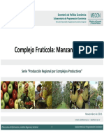 Complejo Frutícola Manzana y Pera