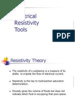 Resistivity Tools