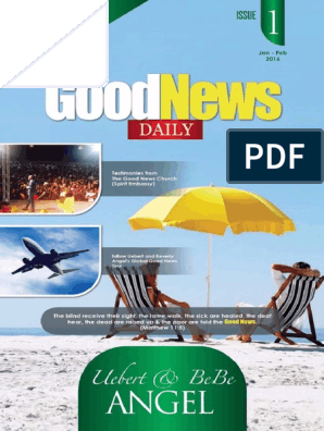 Good News Daily Devotional_ Jan - Uebert Angel pdf | Good