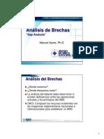 Gap Analysis (Análisis de Brechas)