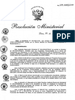 Resolucion Ministerial 237 2018 Minsa.