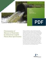 APP MercuryinWastewaterbyICPMS