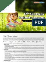 Asian Pediatrics 2019 38459 Tentative Program37284