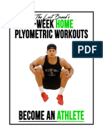 2 Week Home Plyo Program