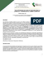 LAS 5 R's DEL MANEJO INTEGRADO DE SUELOS PARA MEJORAR LA PRODUCTIVIDAD AGRÍCOLA Y ENFRENTAR EL CAMBIO CLIMÁTICO