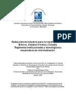 Redes ciencia-industria para transferencia Méx, US, Canadá.pdf