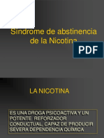 ABSTINENCIA NICOTINA