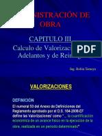 Administracion de Obra - CAP III - Valorizaciones.pdf