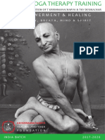 KHYF Yoga Therapy India 2017 2020 V2