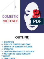 Domestic violence ppt