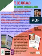 A fé de Abraão é tema de livro do prof. Mariano Da Rosa