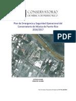 Plan de Emergencia y Seguridad Operacional Del CMPR