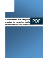 A framework for a regulated market for canabis in the UK