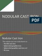 Nodular Cast Iron