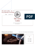 Chiron in the 4th House • the Astro Codex
