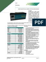 5000 Series Alarm Monitor Datasheet