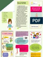 Leaflet Kheli Fitria Annuril 10 Tanda Bahaya Kehamilan