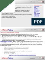 1.4 Market Failure