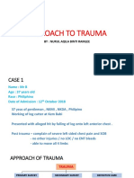 Approach of Trauma