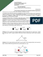 Guia de Problemas # 1. Fisica 5° Año. Prof. Paulo Arraiz