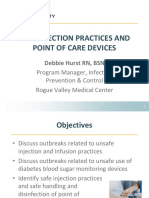 5.00 Safe Injection Practices Point of Care Devices