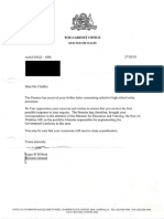 Letter From R B Wilkins on Behalf of Premier Bob Carr Dated 27 February 2003