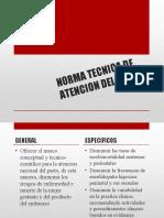 NORMA TECNICA DE ATENCION DEL PARTO.pptx