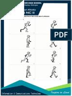 Flipbook Walking Activity