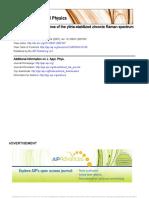 temperature dependence of yttria stabilized Zirconia Raman spectrum