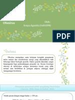 Sonya Agustin 1601090 Farmakokinetik Klinik 2016b