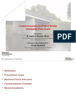 Countermeasures to Protect Bridge Abutments From Scour