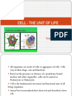 Cell-The Unit of Life