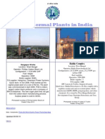 Power Plants in India - Compiled by Project Sales Corp