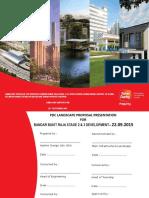 Landscape Presentation - Bandar Bukit Raja PDC Printing