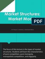 Economics Market Structure