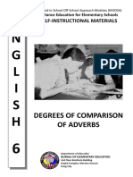 MISOSA Degrees of Comparison of Adverbs