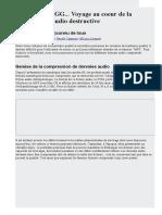 MP3, AAC, OGG... Voyage Au Coeur de La Compression Audio Destructive - Les Numériques
