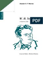 (Macmillan Literary Lives) Alasdair D. F. Macrae (auth.)-W. B. Yeats_ A Literary Life-Palgrave Macmillan UK (1995).pdf