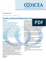 Family Centered Maternity Care PP2017