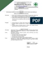 SK Penetapan indikator prioritas untuk monitoring dan menilai  kerja.doc